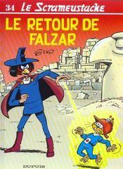 Le Retour De Falzar - Intérieur - Format classique