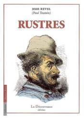 Rustres - Couverture - Format classique