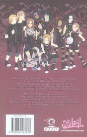 Gothic sports t.1 - 4ème de couverture - Format classique