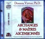 Archanges et maîtres ascensionnés ; comment travailler et guérir avec les divinités et les déités - Couverture - Format classique