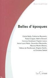 Belles D'Epoques - Couverture - Format classique