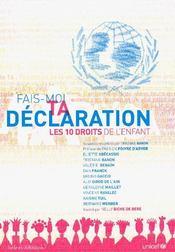 Fais-Moi Ta Declaration - Intérieur - Format classique