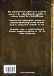 1000 nudes volume i-trilingue - 4ème de couverture - Format classique