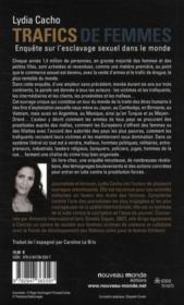 Trafics de femmes ; enquête sur l'esclavage sexuel dans le monde - 4ème de couverture - Format classique