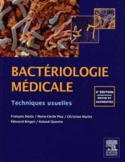 Bactériologie médicale (2e édition) - Couverture - Format classique