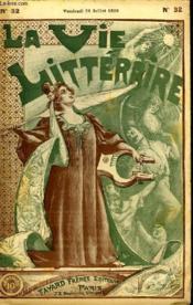 A Vau La Rue. La Vie Litteraire. - Couverture - Format classique