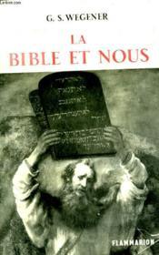 La Bible Et Nous. - Couverture - Format classique