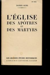L Eglise Des Apotres Et Des Martyrs - Couverture - Format classique