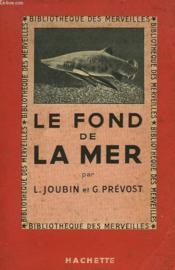 Le Fond De La Mer - Couverture - Format classique