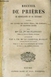 Recueil De Prieres De Meditations Et De Lectures - Couverture - Format classique