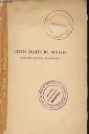 Novalis Petits Ecrits - Couverture - Format classique