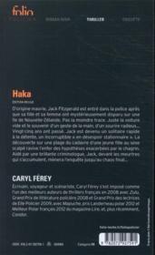 Haka - 4ème de couverture - Format classique