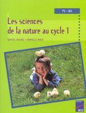 Les sciences de la nature au cycle 1 - Intérieur - Format classique