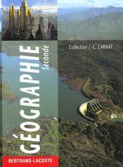 Geographie Seconde - Intérieur - Format classique