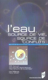 L'Eau, Source De Vie, Source De Conflits - Intérieur - Format classique