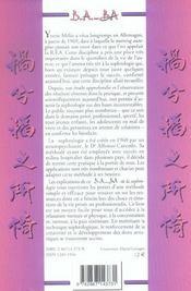 La sophrologie - 4ème de couverture - Format classique