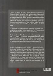 Chambres noires - 4ème de couverture - Format classique