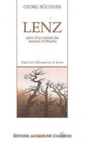Lenz - Couverture - Format classique