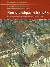 Rome antique retrouve - Intérieur - Format classique