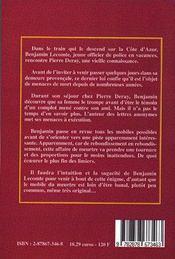 Les Retrouvailles - 4ème de couverture - Format classique
