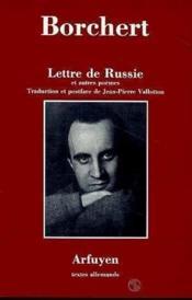 Lettre de russie - Couverture - Format classique