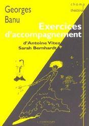 Exercices d'accompagnement - d'antoine vitez a sarah bernhardt - Intérieur - Format classique
