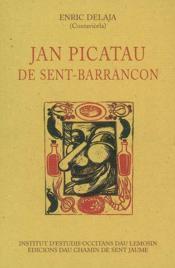 Jan picatau de sent-barrancon - Couverture - Format classique