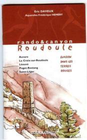Carnet de voyage en roudoule - Couverture - Format classique