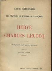 Herve Charles Lecocq - Couverture - Format classique