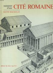 Naissance D'Une Cite Romaine - Couverture - Format classique