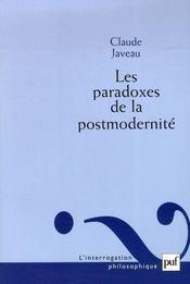 Les paradoxes de la postmodernité - Intérieur - Format classique