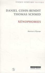 Xenophobies - Couverture - Format classique