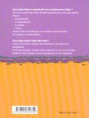 Italien Le Dico-Verbes 600 Verbes Classes Par Themes Et En Contexte - 4ème de couverture - Format classique