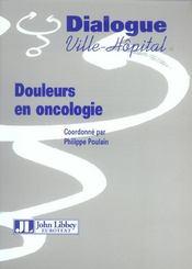 Douleurs En Oncologie - Intérieur - Format classique