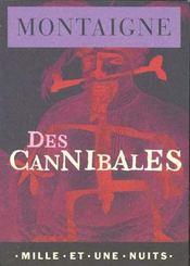 Des cannibales - Intérieur - Format classique