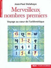 Merveilleux Nombres Premiers - Intérieur - Format classique