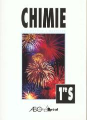 Chimie 1°s - Couverture - Format classique