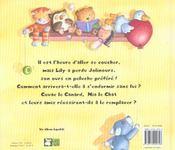 Le Trop Petit Lit De Lily - 4ème de couverture - Format classique