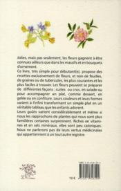 Fleurs, je vous aime... de toutes les couleurs - 4ème de couverture - Format classique