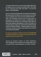 Fragments Sur L'Art Antique - 4ème de couverture - Format classique