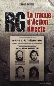 RG ; la traque d'action directe - Couverture - Format classique