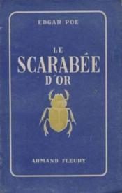 Le scarabée d'or - Couverture - Format classique