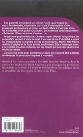 Le deuil de maternite - 4ème de couverture - Format classique