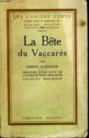 Les Bete Du Vaccares. - Couverture - Format classique