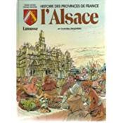 Histoire des provinces de france L'ALSACE en bandes dessinées - Couverture - Format classique