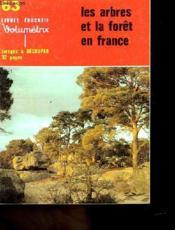 Livret Educatif Volumetrix N°63 - Les Arbres Et La Foret En France - Images A Decouper - Couverture - Format classique