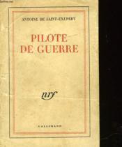 Pilote De Guerre - Couverture - Format classique