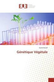Genetique vegetale - Couverture - Format classique