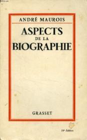 Aspects De La Biographie - Couverture - Format classique