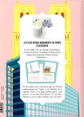 Paris, la ville en 3D - 4ème de couverture - Format classique